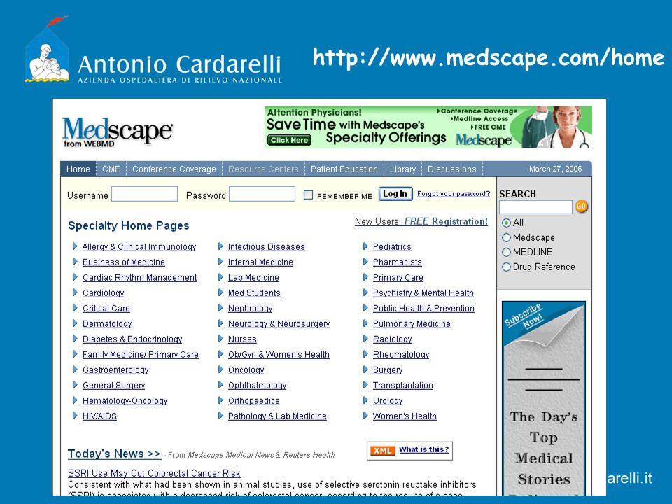 http://www.medscape.com/home
