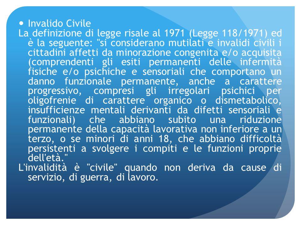 Invalido Civile