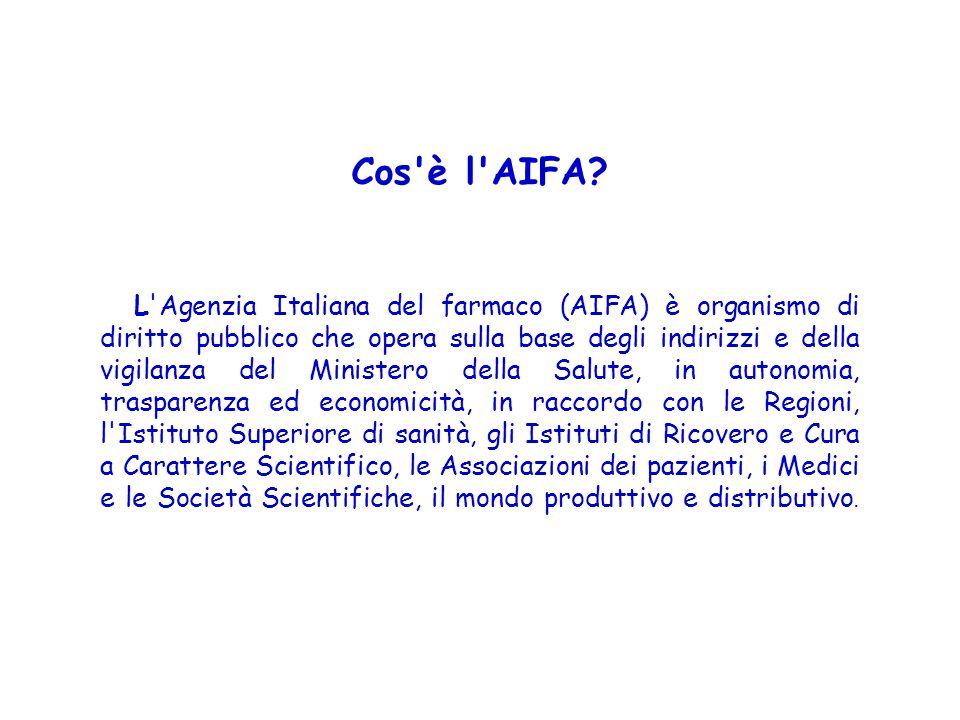 Cos è l AIFA