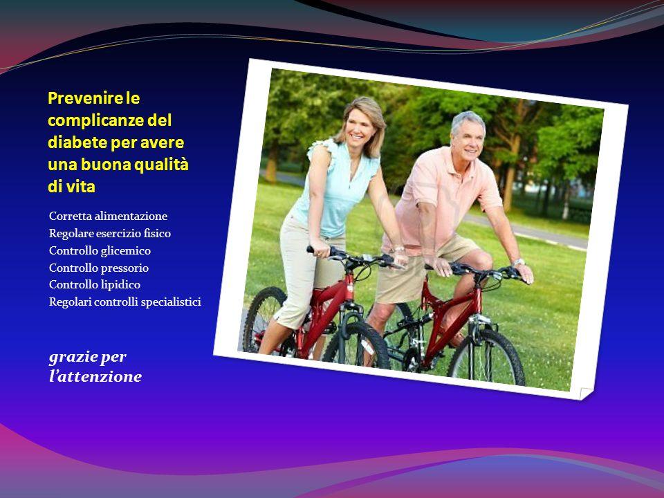 Prevenire le complicanze del diabete per avere una buona qualità di vita