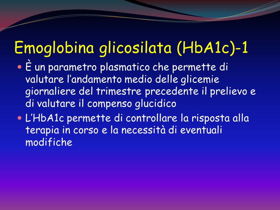 Emoglobina glicosilata (HbA1c)-1