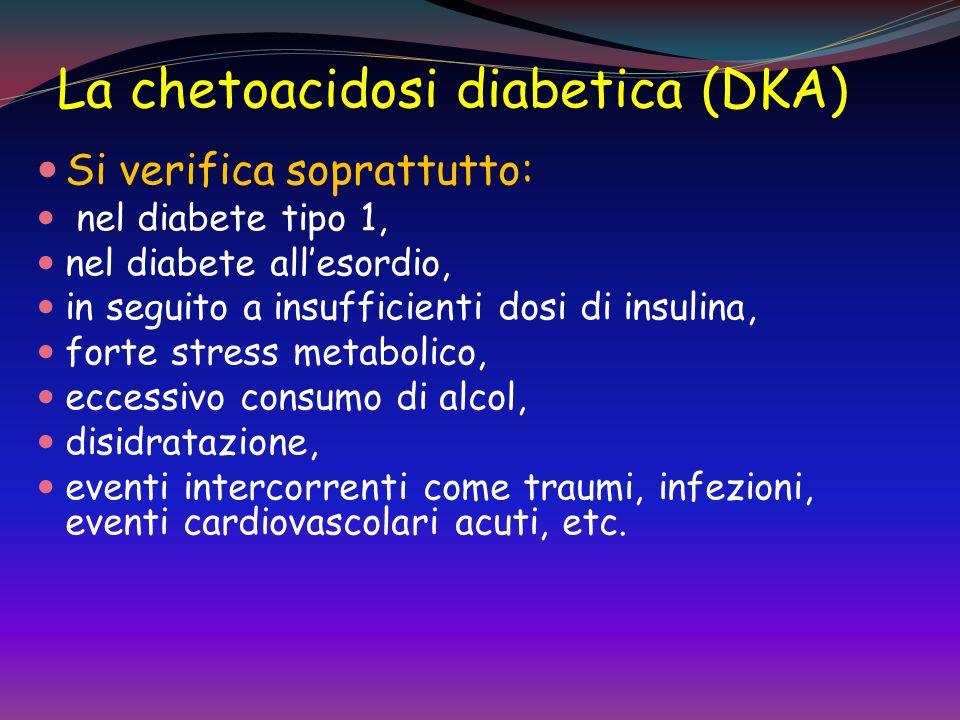 La chetoacidosi diabetica (DKA)