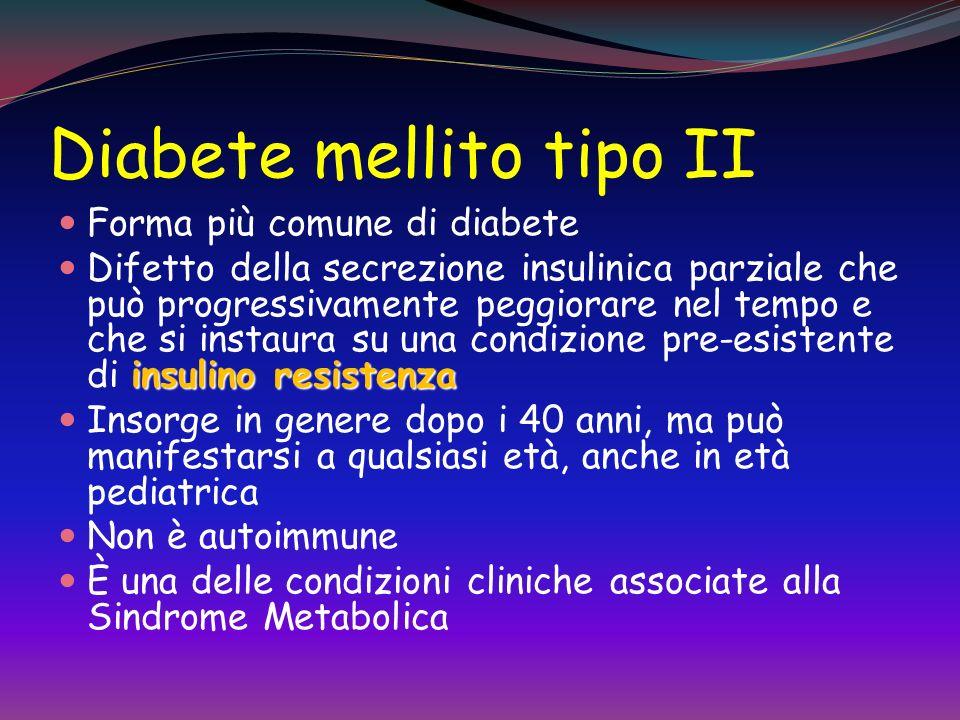 Diabete mellito tipo II