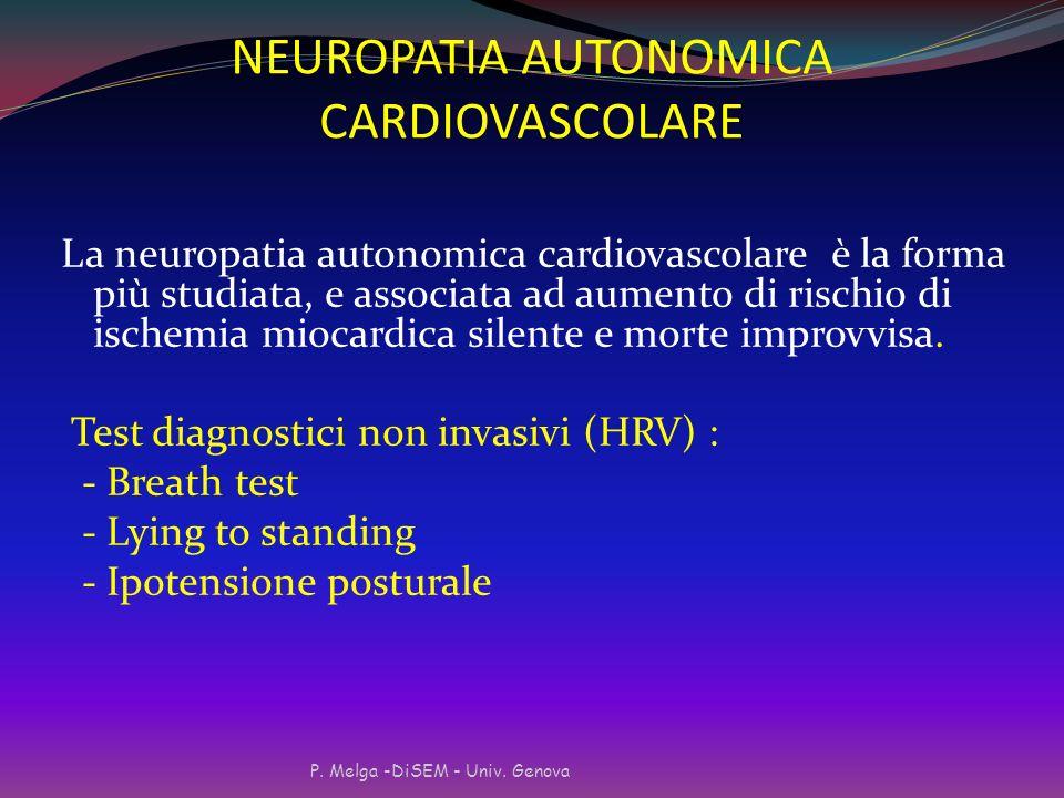 NEUROPATIA AUTONOMICA CARDIOVASCOLARE