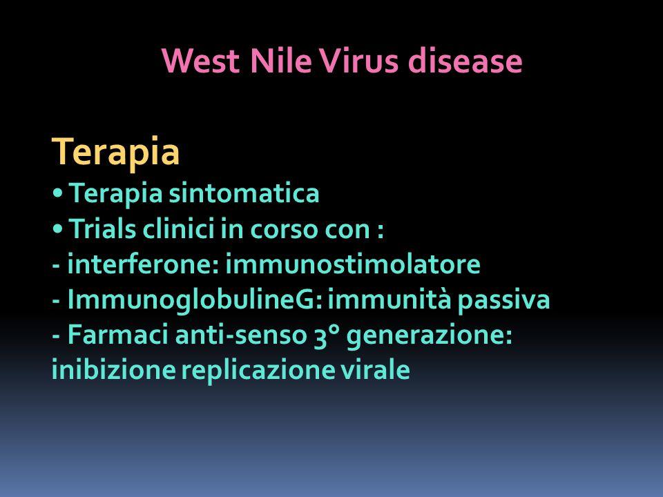 West Nile Virus disease