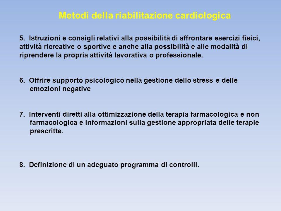 Metodi della riabilitazione cardiologica