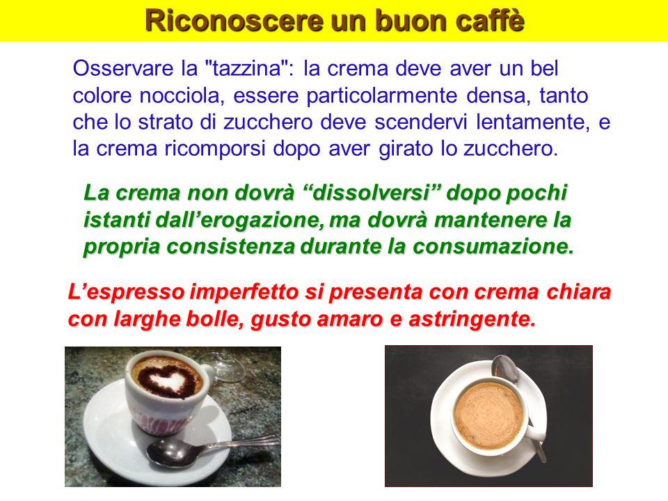 Riconoscere un buon caffè