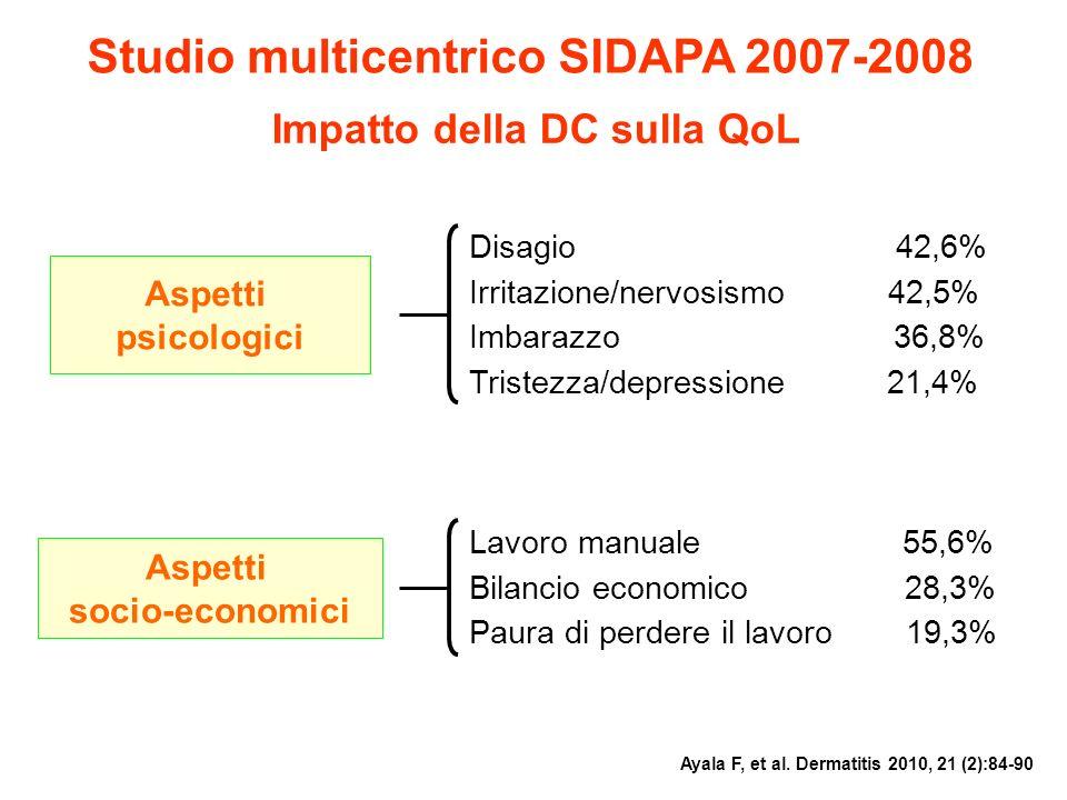 Studio multicentrico SIDAPA 2007-2008