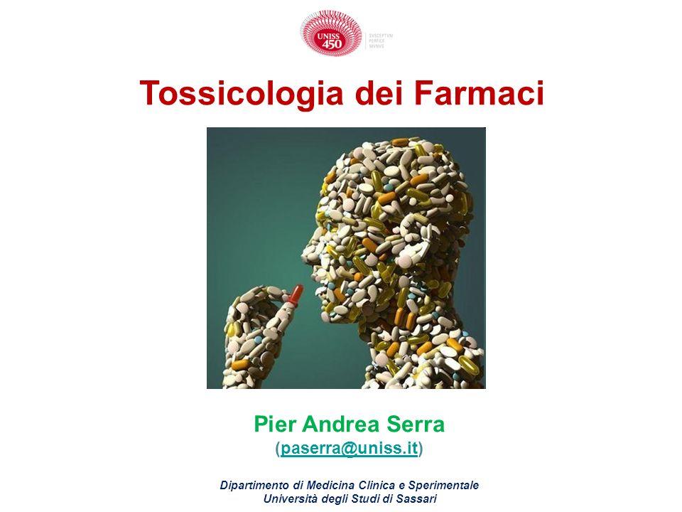 Tossicologia dei Farmaci