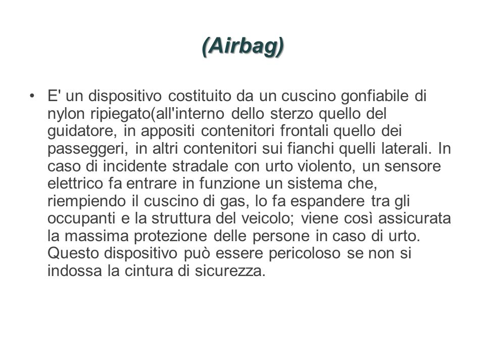 (Airbag)
