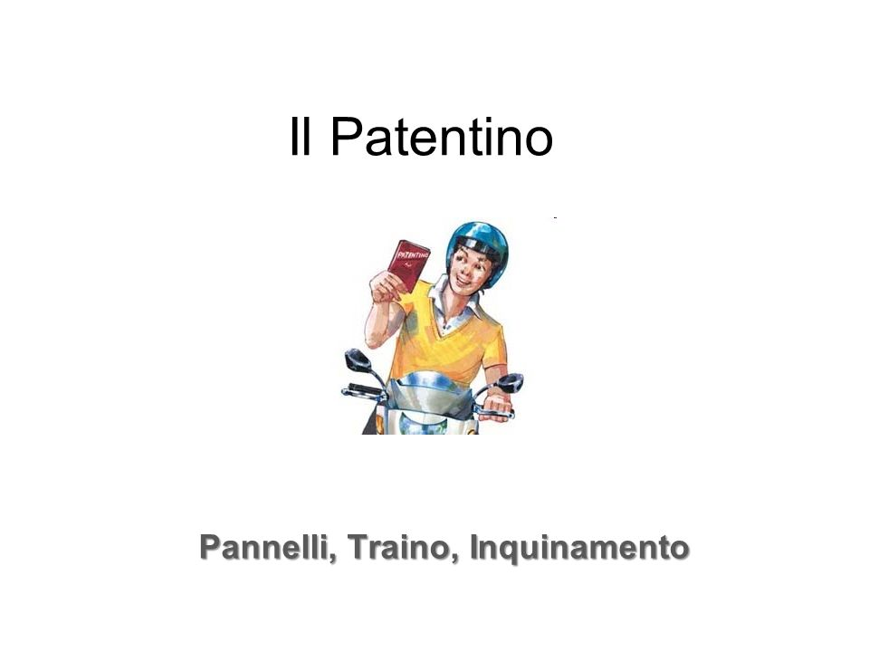 Pannelli, Traino, Inquinamento