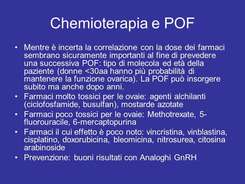 Chemioterapia e POF