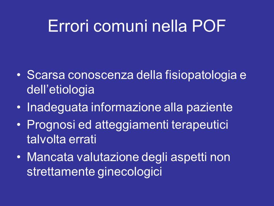 Errori comuni nella POF