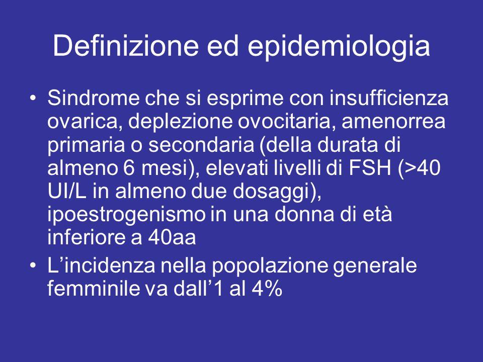 Definizione ed epidemiologia