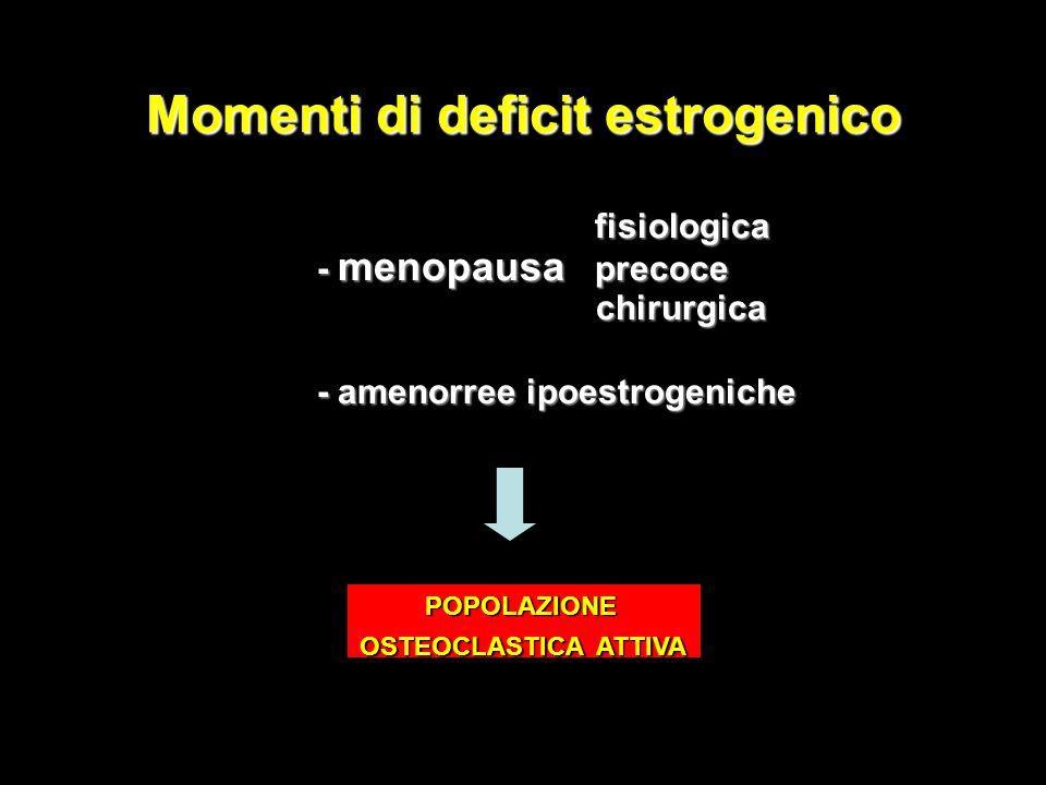 Momenti di deficit estrogenico