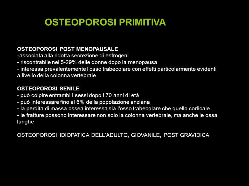 OSTEOPOROSI PRIMITIVA