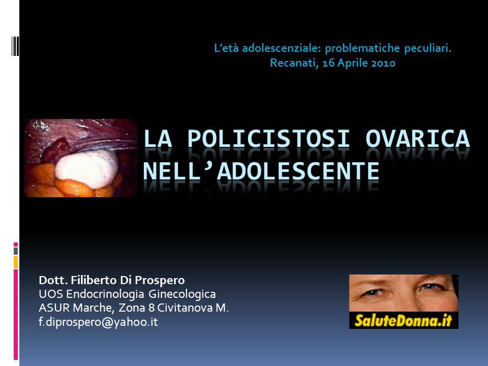 La Policistosi Ovarica nell'adolescente