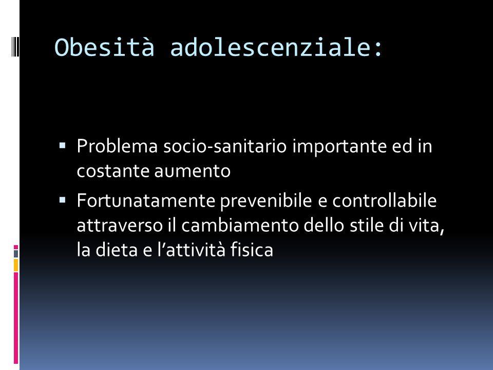 Obesità adolescenziale: