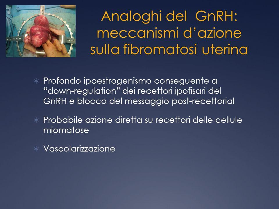 Analoghi del GnRH: meccanismi d'azione sulla fibromatosi uterina