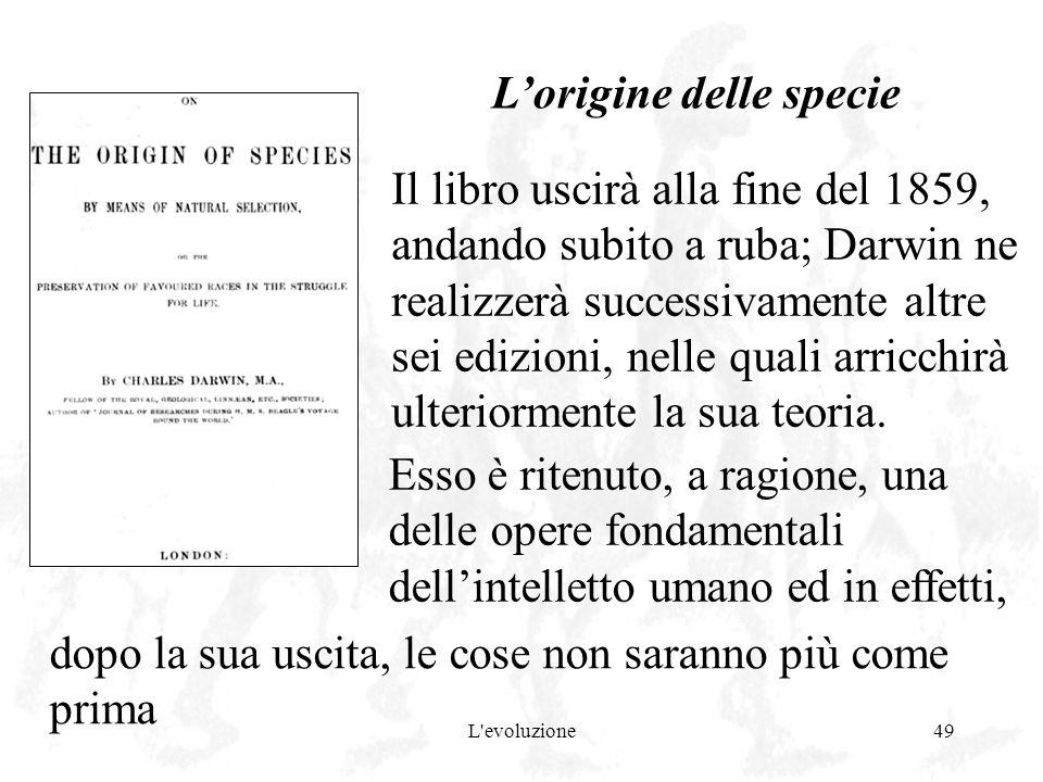 L'origine delle specie