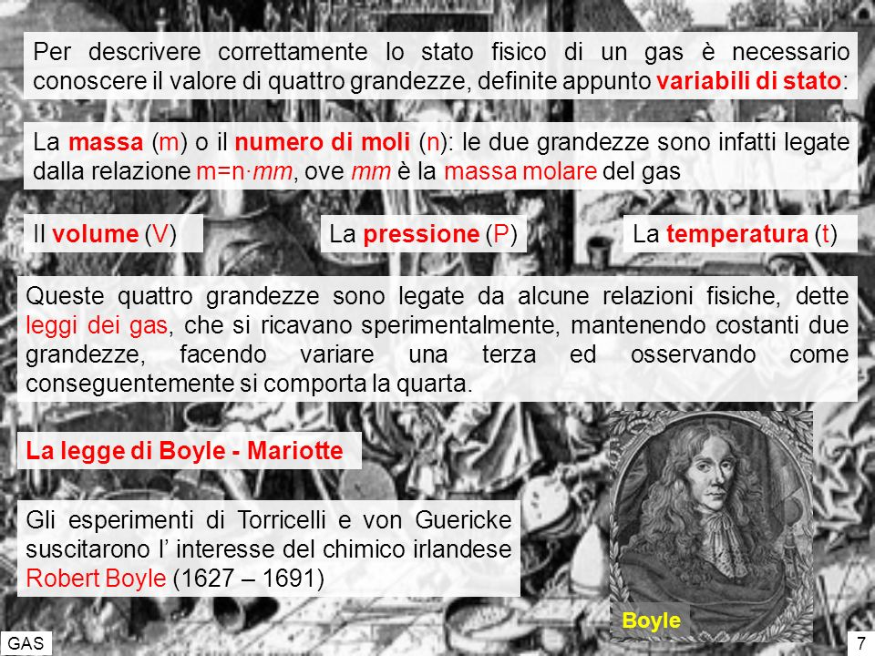 La legge di Boyle - Mariotte