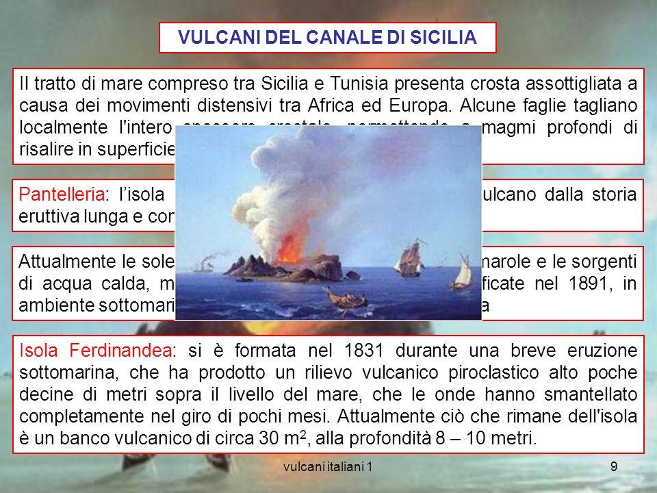 VULCANI DEL CANALE DI SICILIA