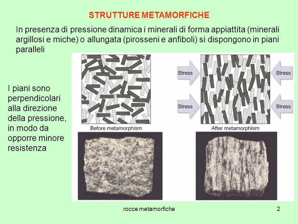 STRUTTURE METAMORFICHE