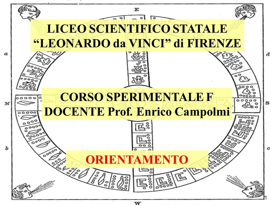 LICEO SCIENTIFICO STATALE LEONARDO da VINCI di FIRENZE