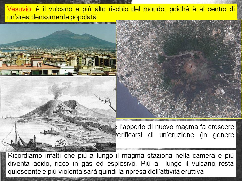 Vesuvio: è il vulcano a più alto rischio del mondo, poiché è al centro di un'area densamente popolata