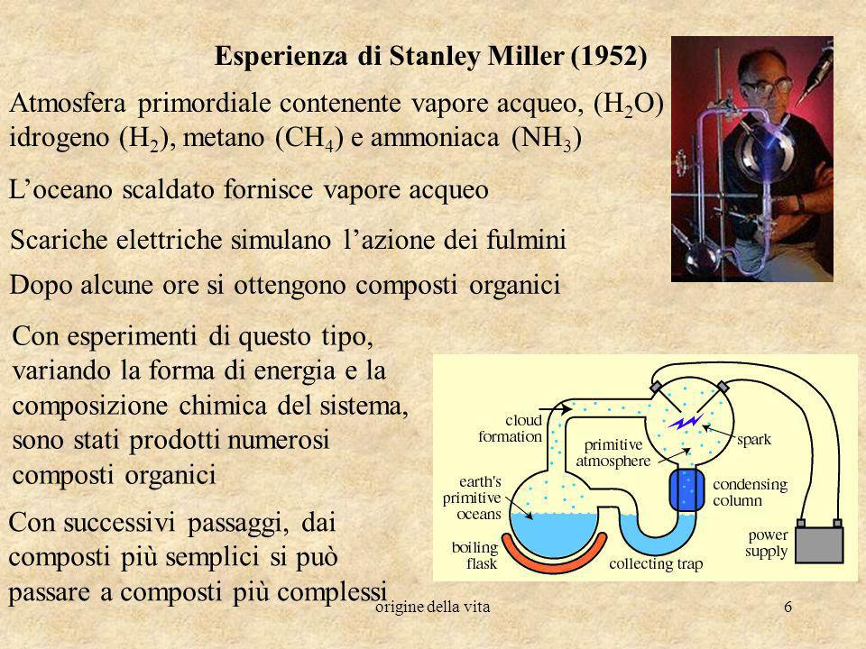 Esperienza di Stanley Miller (1952)