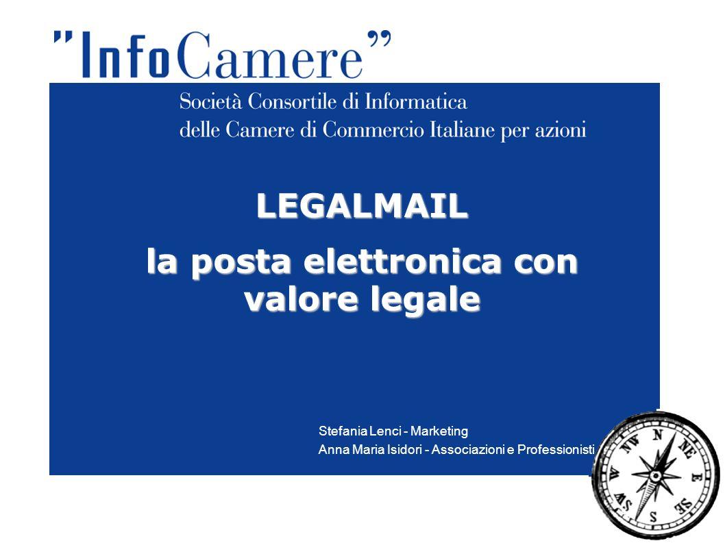 la posta elettronica con valore legale