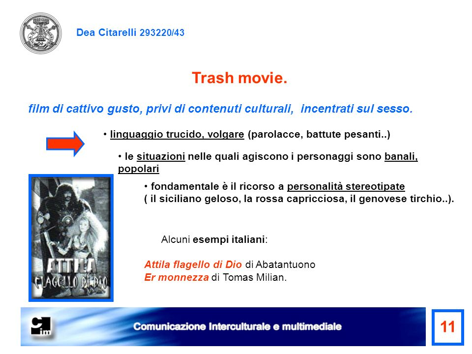 Trash movie. 11 Dea Citarelli 293220/43