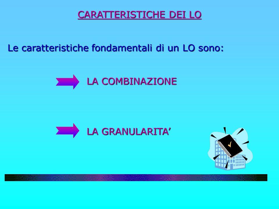 CARATTERISTICHE DEI LO