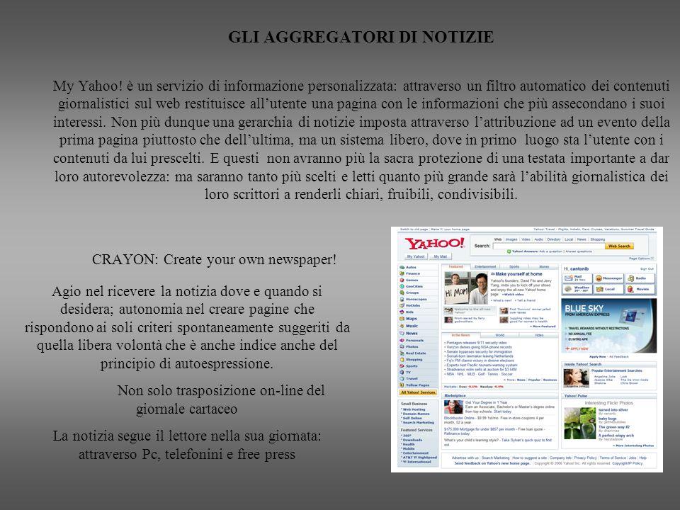 Non solo trasposizione on-line del giornale cartaceo