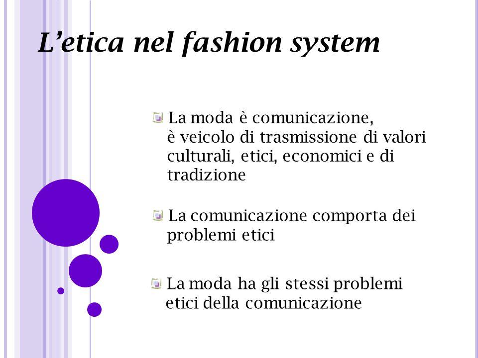 L'etica nel fashion system