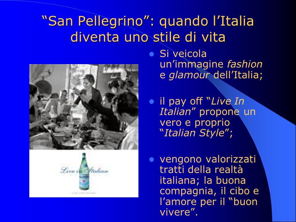 San Pellegrino : quando l'Italia diventa uno stile di vita