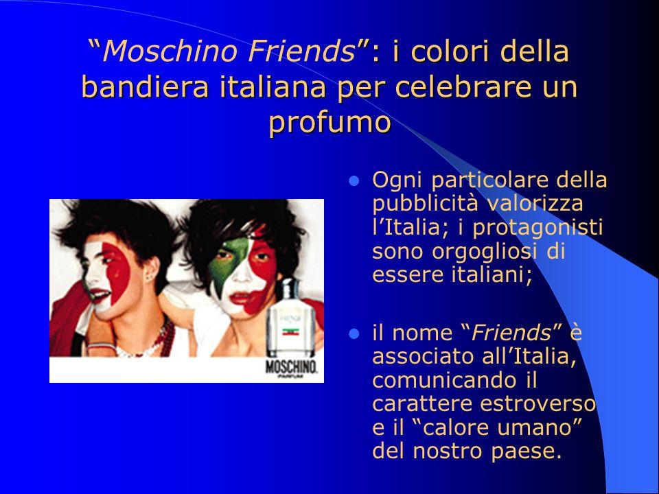 Moschino Friends : i colori della bandiera italiana per celebrare un profumo