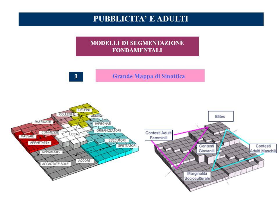 MODELLI DI SEGMENTAZIONE FONDAMENTALI Grande Mappa di Sinottica