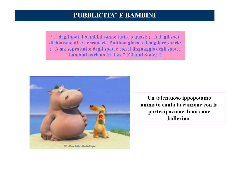 PUBBLICITA' E BAMBINI