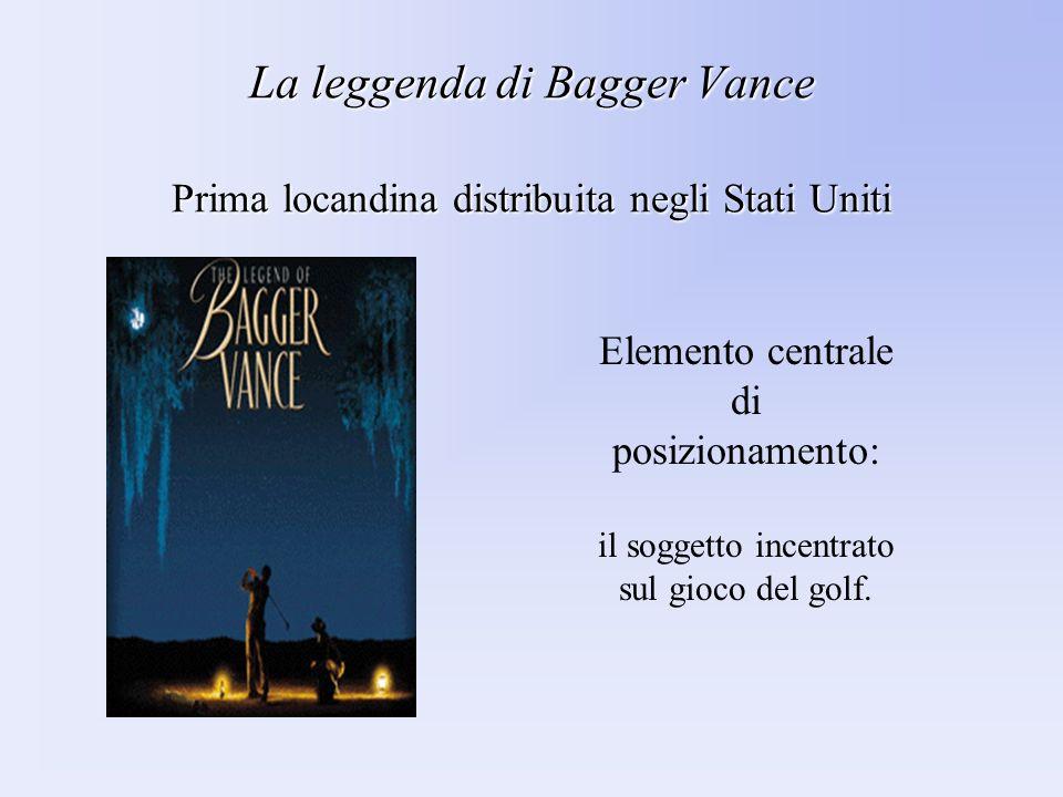 La leggenda di Bagger Vance Prima locandina distribuita negli Stati Uniti