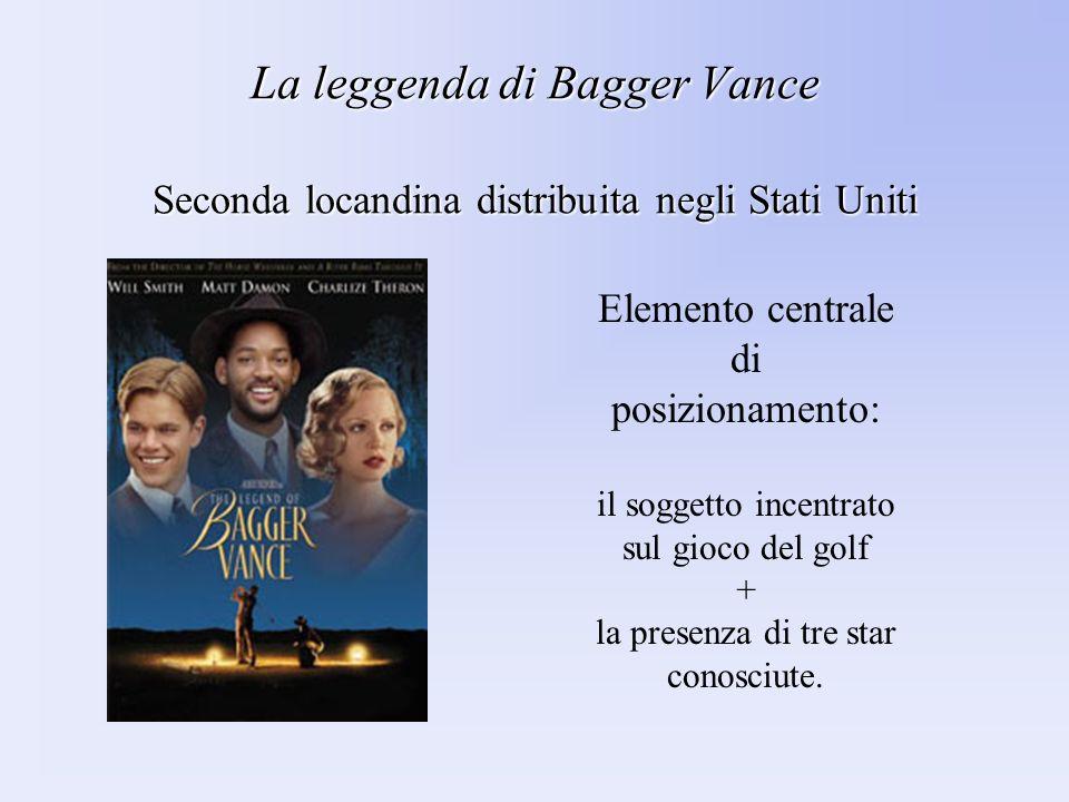 La leggenda di Bagger Vance Seconda locandina distribuita negli Stati Uniti