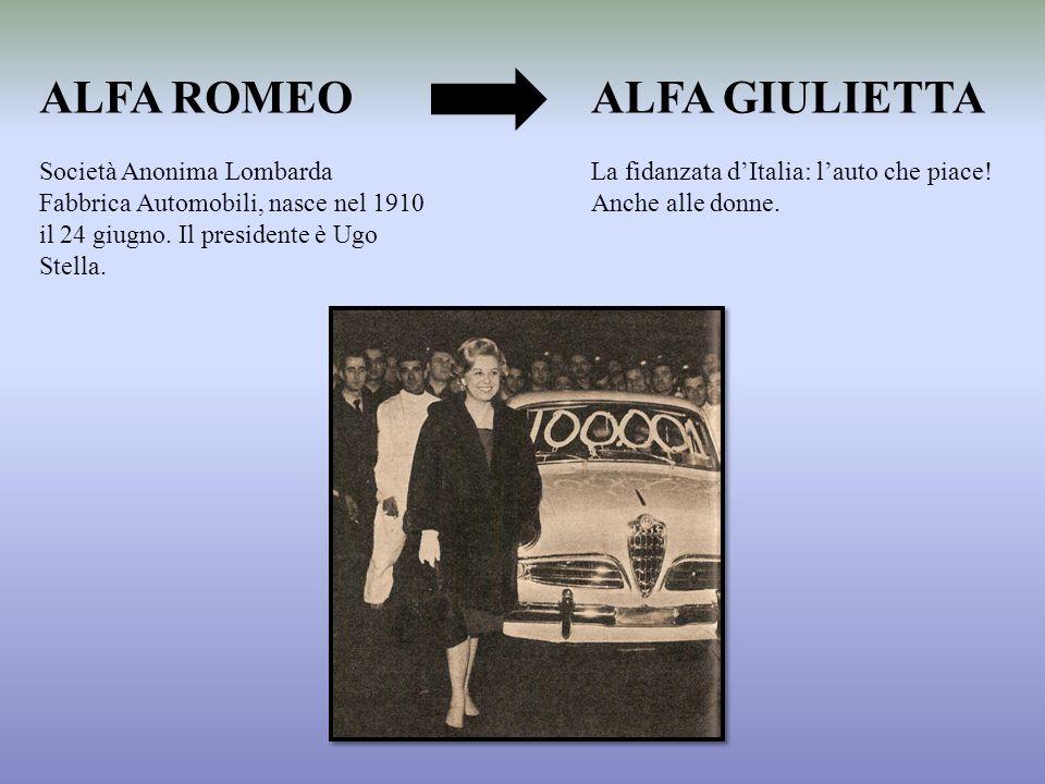 ALFA ROMEO ALFA GIULIETTA
