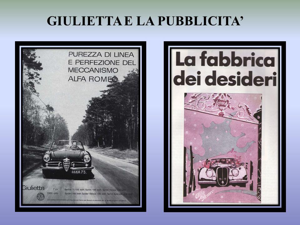 GIULIETTA E LA PUBBLICITA'