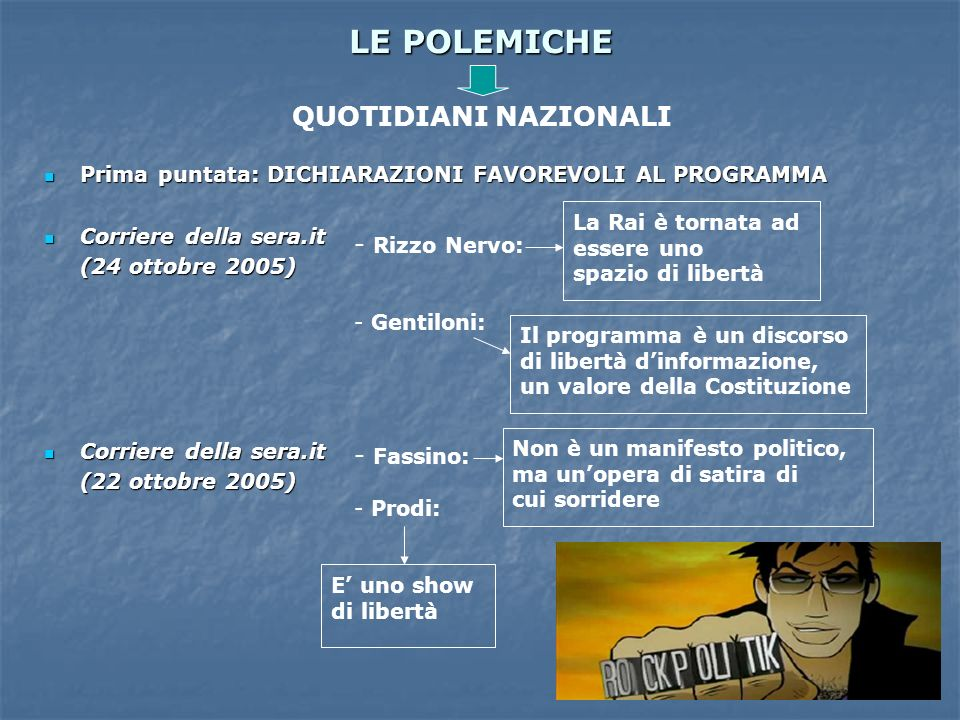 LE POLEMICHE QUOTIDIANI NAZIONALI Rizzo Nervo: Fassino: