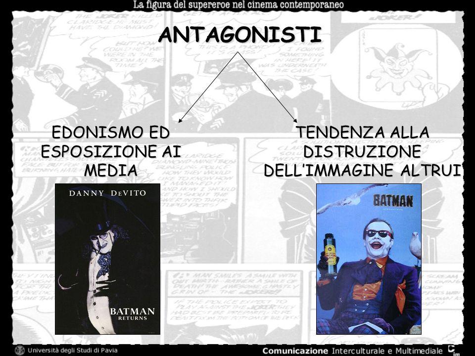 ANTAGONISTI EDONISMO ED ESPOSIZIONE AI MEDIA