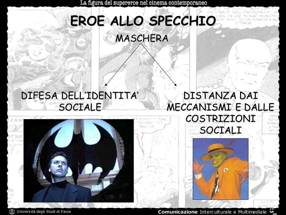 EROE ALLO SPECCHIO MASCHERA DIFESA DELL'IDENTITA' SOCIALE