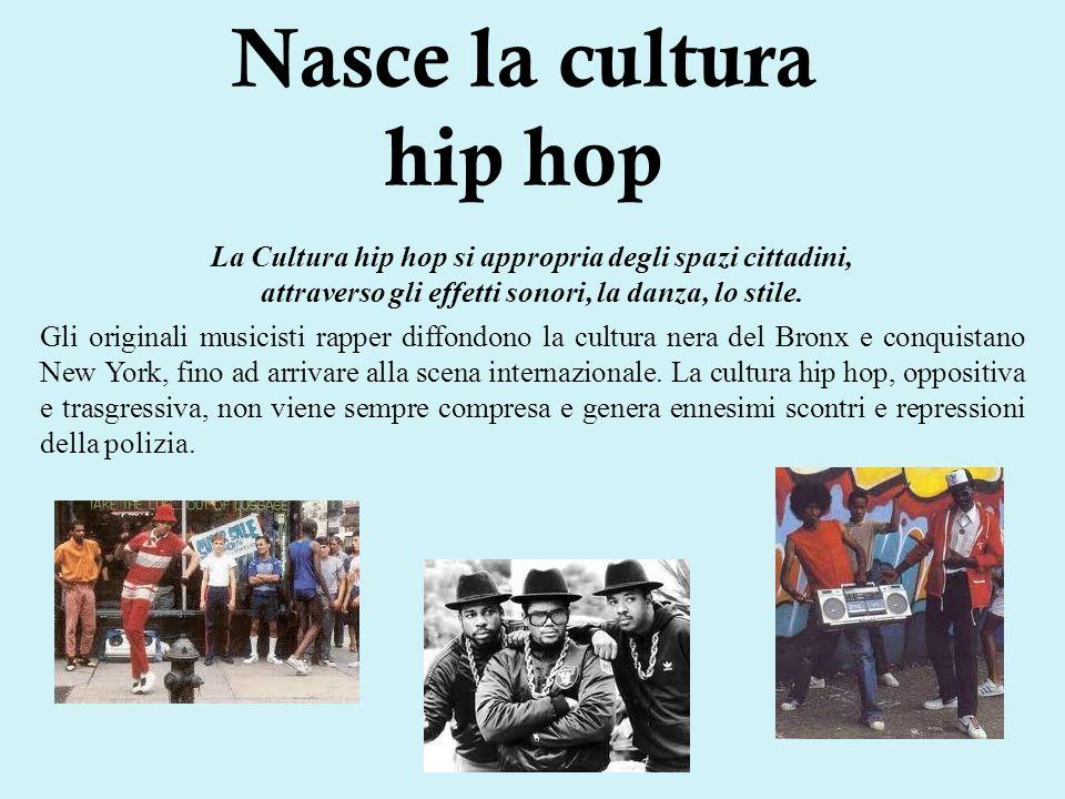 Nasce la cultura hip hop