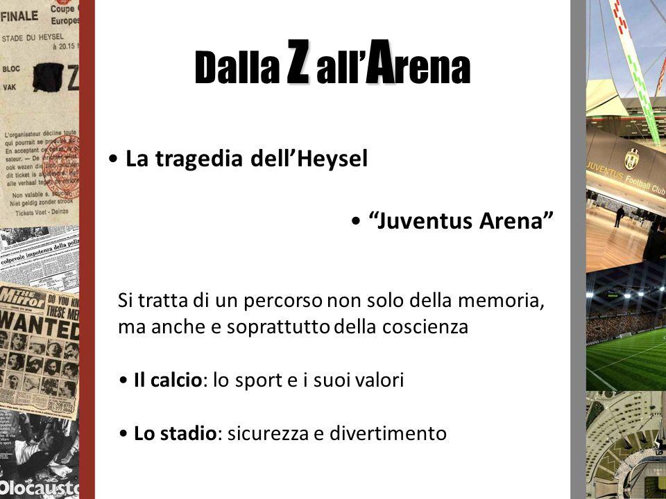 Dalla Z all'Arena La tragedia dell'Heysel Juventus Arena