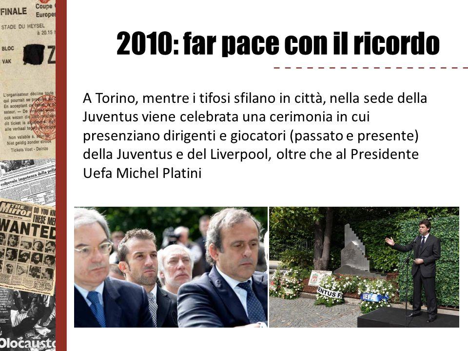 2010: far pace con il ricordo