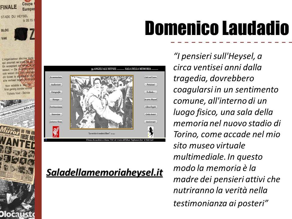 Domenico Laudadio Saladellamemoriaheysel.it